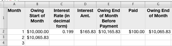 spreadsheet for compound interest