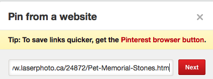 How to use Pinterest Pinning a Pinterest photo to your pin board