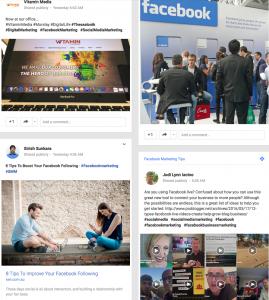 Facebook Google Plus page