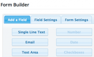Blue form builder