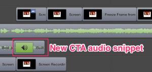 New CTA audio snippet