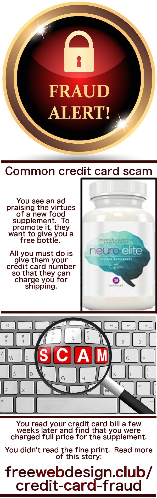 Credit Card Fraud pin