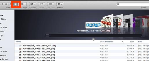Finder Download folder