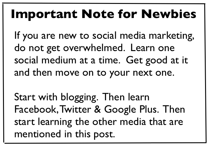 Note for Newbies