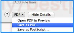 Save as PDF 2