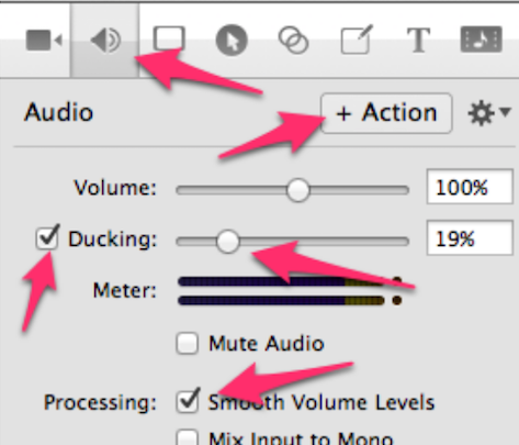 Audio Actions