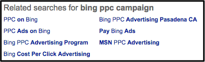bing-ppc-campaign-related-searche