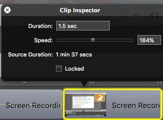 script writing clip-inspector