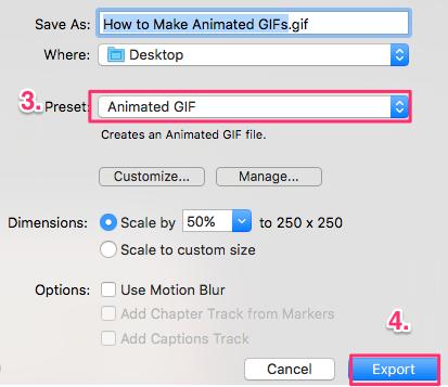 animated GIFs